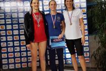 Armelle médaille de bronze sur 200 m brasse